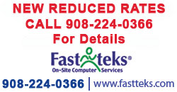 Computer Repair Services Rates in New Jersey